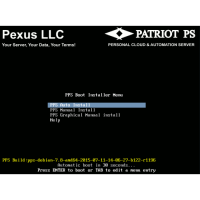 Pexus Patriot PS -  Personal Server OS ISO Image