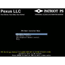 Pexus Patriot PS -  Personal Server OS ISO Image - Student & Developer